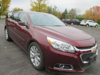 Used 2015 Chevrolet Malibu LT for sale in Omemee, ON