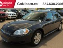 Used 2013 Chevrolet Impala AUTO, SUNROOF, HANDSFREE for sale in Edmonton, AB