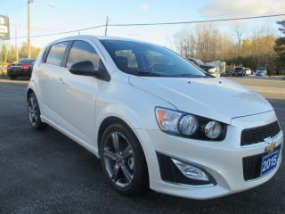 Used 2015 Chevrolet Sonic RS for sale in Omemee, ON