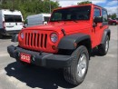 Used 2013 Jeep Wrangler Sport - A/C - Hitch for sale in Norwood, ON