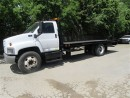 Used 2007 GMC 7500 diesel tow truck roll off bed and wheel lift for sale in Richmond Hill, ON