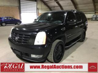 Used 2007 Cadillac Escalade BASE for sale in Calgary, AB