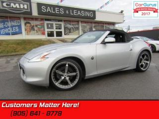 Used 2010 Nissan 370Z Touring  LEATH COOLED-SEATS BOSE DUAL-P/SEATS XENON BT for sale in St Catharines, ON
