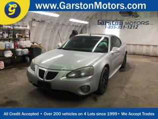 Used 2004 Pontiac Grand Prix GTP****AS IS CONDITION AND APPEARANCE****POWER SUNROOF*LEATHER*CLIMATE CONTROL*KEYLESS ENTRY*HEATED FRONT SEATS* for sale in Cambridge, ON
