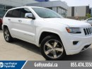 Used 2014 Jeep Grand Cherokee Overland ADAPTIVE CRUISE COLLISON WARNING for sale in Edmonton, AB