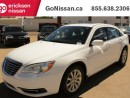 Used 2013 Chrysler 200 Touring V6 SUNROOF BLUETOOTH HEATED SEATS LOW KMS for sale in Edmonton, AB