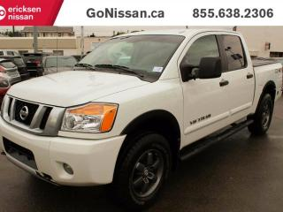 Used 2015 Nissan Titan CREW CAB, BACK UP CAMERA, BLUETOOTH!! for sale in Edmonton, AB