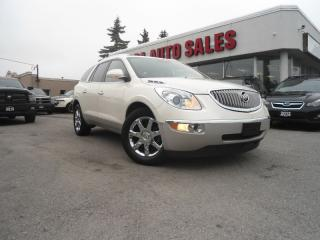 Used 2009 Buick Enclave AWD NAVIGATION PANORAMIC ROOF WARRANTY TILL 2020 S for sale in Oakville, ON