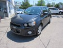 Used 2014 Chevrolet Sonic LT for sale in Brantford, ON