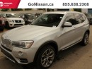 Used 2015 BMW X3 LEATHER, MOON ROOF, NAV for sale in Edmonton, AB