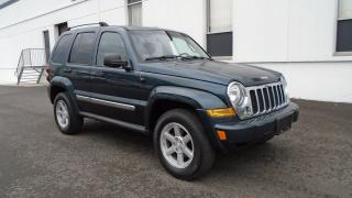 Used 2005 Jeep Liberty LIMITED 3.7L V6-LOADED HEATED LEATHER 4X4 for sale in North York, ON