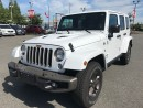 Used 2016 Jeep Wrangler Sahara Unlimited for sale in Langley, BC