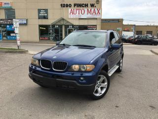 Used 2006 BMW X5 3.0i, Sunroof, AWD, Great Condition for sale in North York, ON