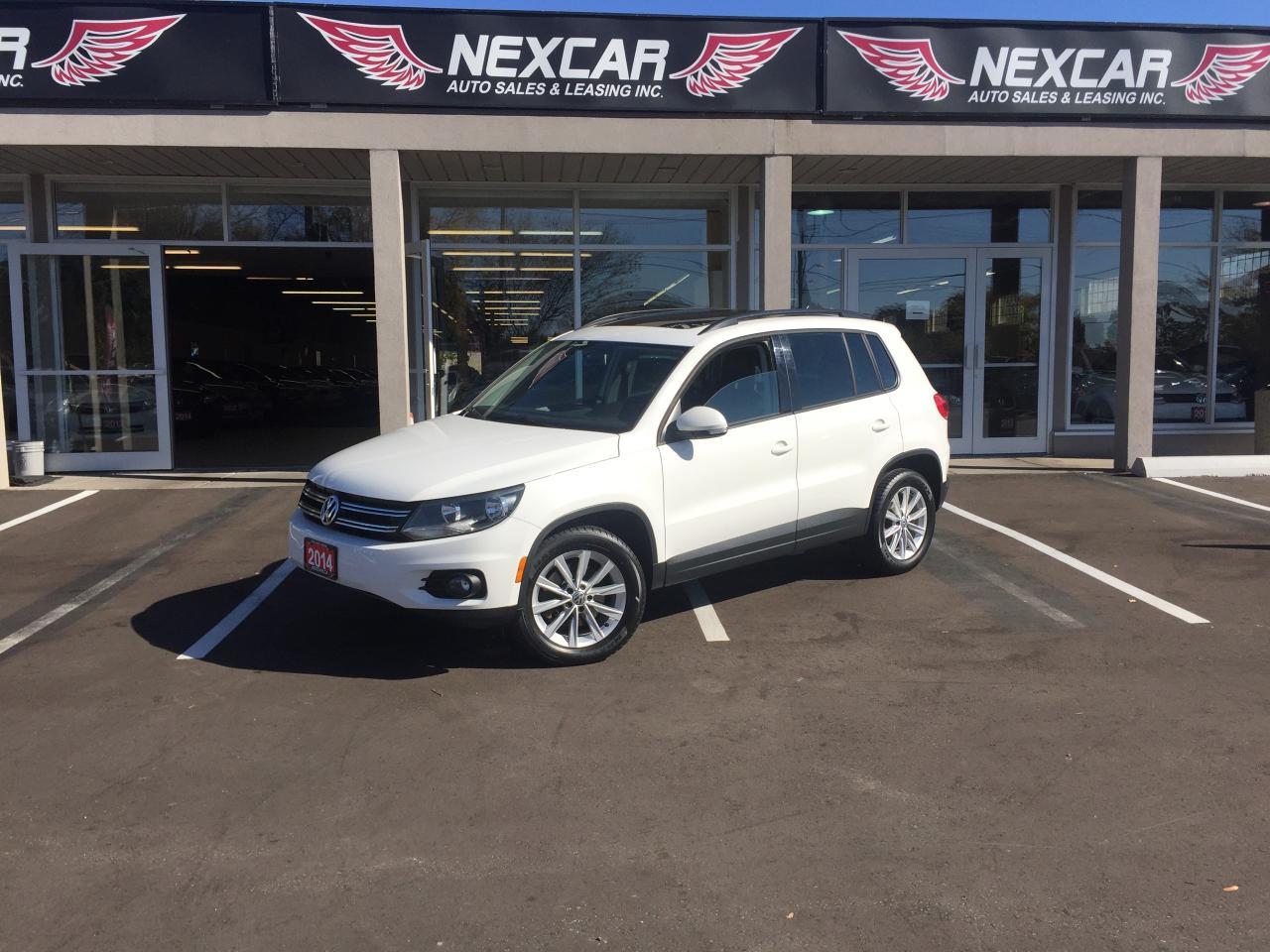 Photo of White 2014 Volkswagen Tiguan