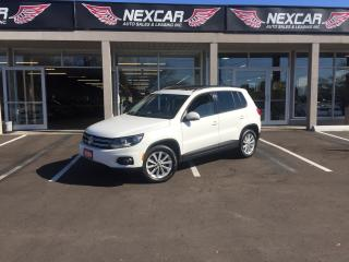 Used 2014 Volkswagen Tiguan 2.0 TSI COMFORTLINE AUTO AWD LEATHER PANO/ROOF 99K for sale in North York, ON