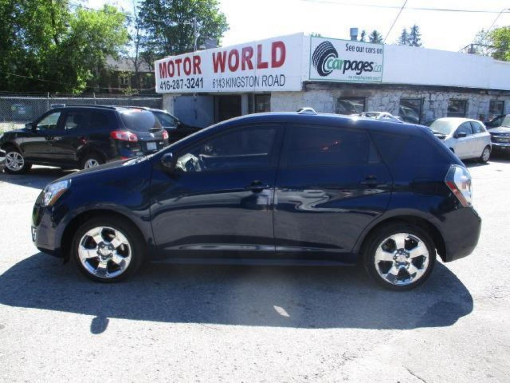Used 2009 pontiac vibe for sale in scarborough ontario for Motor world used cars