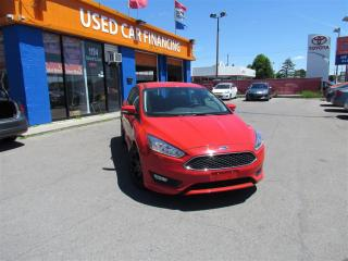 Used 2016 Ford Focus SE | BACKUP CAM | LOW KM | SPORTY DESIGN for sale in London, ON