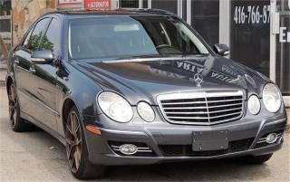 Used 2009 Mercedes-Benz E-Class 3.0L for sale in Etobicoke, ON
