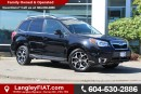 Used 2015 Subaru Forester 2.0XT Limited Package CANADIAN OWNED for sale in Surrey, BC