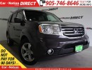 Used 2012 Honda Pilot | NAVI| LEATHER| SUNROOF| LOW KM'S| for sale in Burlington, ON