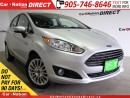 Used 2015 Ford Fiesta Titanium| LEATHER| BACK UP CAMERA| TOUCH SCREEN| for sale in Burlington, ON