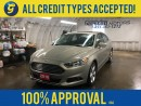 Used 2016 Ford Fusion SE*POWER SUNROOF*BACK UP CAMERA*MICROSOFT SYNC*ALLOYS*FOG LIGHTS*POWER WINDOWS/LOCKS/HEATES MIRRORS*POWER FRONT SEATS*AM/FM/XM/CD/USB/BLUETOOTH*KEYLESS ENTRY*CRUISE CONTROL* for sale in Cambridge, ON