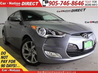 Used 2016 Hyundai Veloster SE| BACK UP CAMERA & SENSORS| TOUCH SCREEN| for sale in Burlington, ON