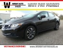 Used 2014 Honda Civic EX| BLUETOOTH| BACKUP CAM| HEATED SEATS| 40,012KMS for sale in Kitchener, ON