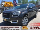 Used 2013 GMC Acadia SLE2 AWD QUAD SEATING BACK UP CAMERA BLUETOOTH CON for sale in St Catharines, ON