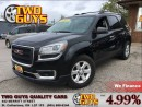 Used 2013 GMC Acadia SLE2 AWD BACK UP CAMERA QUAD SEATING for sale in St Catharines, ON