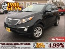 Used 2013 Kia Sportage LX AWD REAR PARKING AID SATELLITE RADIO for sale in St Catharines, ON