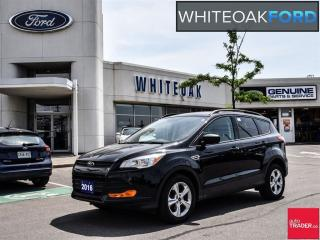 Used 2016 Ford Escape S, 2.5 liter, one owner, ford certified program for sale in Mississauga, ON