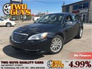 Used 2011 Chrysler 200 Limited LEATHER NAVIGATION SUNROOF 4 NEW TIRES!! for sale in St Catharines, ON