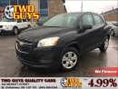 Used 2014 Chevrolet Trax LS BLUETOOTH GAS SAVER!! for sale in St Catharines, ON