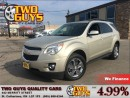 Used 2013 Chevrolet Equinox 2LT WOW LOW MILEAGE!! CHROME ALLOYS for sale in St Catharines, ON