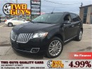Used 2013 Lincoln MKX AWD ELITE TRIM NAV-LEATHER-PANOROOF-LOADED!!! for sale in St Catharines, ON