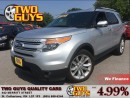 Used 2013 Ford Explorer Limited 4WD MOONROOF NAV BACKUP CAM for sale in St Catharines, ON