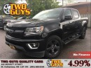 Used 2016 Chevrolet Colorado BLACKOUT PKG 4WD CREW CAB ALLOYS for sale in St Catharines, ON