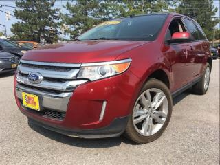 Used 2013 Ford Edge SEL AWD NAV LEATHER MOONROOF CHROME for sale in St Catharines, ON