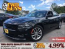 Used 2015 Dodge Charger SXT CHROME RIMS LEATHER MOON ROOF BACK UP CAMERA for sale in St Catharines, ON