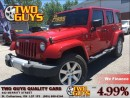 Used 2012 Jeep Wrangler Unlimited Sahara 4WD  TWO TOPS CHROME MAGSW/REMOVABLE HARDTO for sale in St Catharines, ON