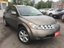 Used 2004 Nissan Murano SE/AWD/LEATHER/ROOF/LOADED/ALLOYS for sale in Scarborough, ON