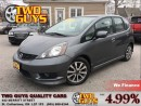 Used 2013 Honda Fit SPORT AUTO ALLOYS BLUETOOTH for sale in St Catharines, ON