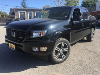 Used 2012 Honda Ridgeline SPORT PACKAGE 4X4 CREW CAB for sale in St Catharines, ON