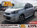 Used 2015 Nissan Micra SR ALLOYS BLUETOOTH POWER GROUP for sale in St Catharines, ON