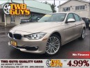 Used 2013 BMW 328 i xDrive AWD LEATHER SUN ROOF SADDLE BROWN LEATHER for sale in St Catharines, ON