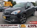 Used 2014 Buick Encore LEATHER NAVIGATION SUN ROOF for sale in St Catharines, ON