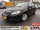 Used 2013 Chrysler 200 LX ULTRA LOW KMS!! NICE CAR!! for sale in St Catharines, ON