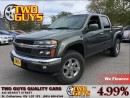 Used 2010 Chevrolet Colorado LT LTZ 4X4 CREW CHROME RIMS I-5 for sale in St Catharines, ON