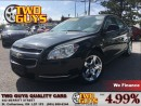Used 2008 Chevrolet Malibu 1LT SUPER CLEAN CAR CRUISE CONTROL SATELLITE RADIO for sale in St Catharines, ON